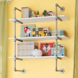 Open Shelf Kitchen Design 25 Cool Diy Metal Pipe Projects For Your Home