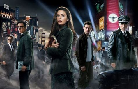 2016 series of castle start interview cast teases man in the high castle s2