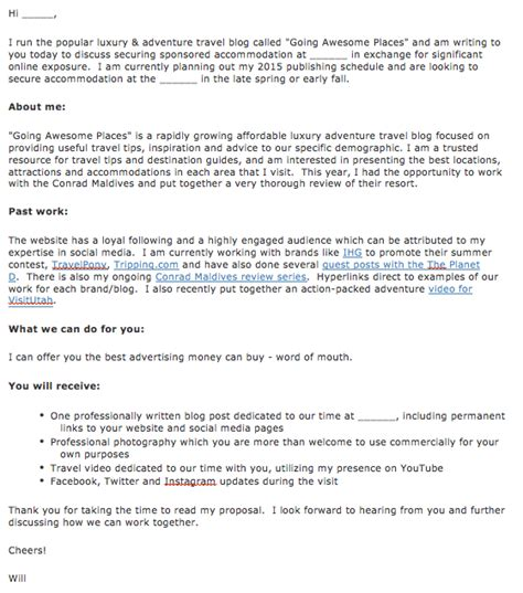 The Art Of Pitching To Travel Brands And Pr Breakthrough Email Template