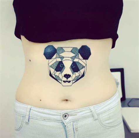 tattoo panda geometrico 25 perfectly cute panda tattoos tatuaje geom 233 trico