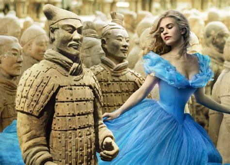 Photoshop Magic Or The Weirdest Photo by What If Cinderella Was Filmed In China Weibo User