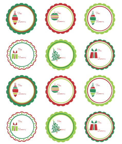 printable round christmas gift tags christmas labels ready to print worldlabel blog