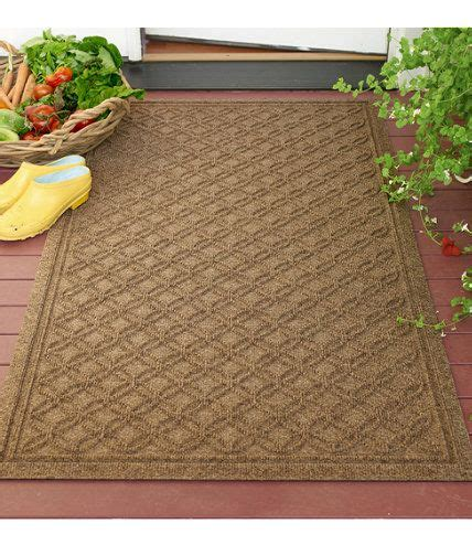ll bean outdoor rugs indoor outdoor locking circles waterhog mat
