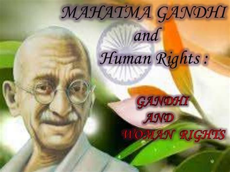 gandhi biography powerpoint mahatma gandhi and human rights a ppt