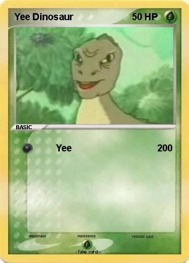 Meme Yee - yee dinosaur yee know your meme