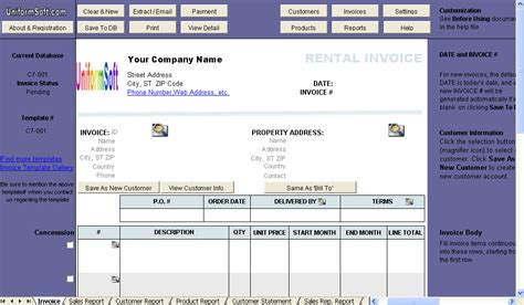 rental agreement tax invoice images frompo
