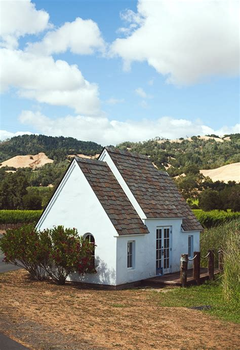 simple cottage in napa valley photo by daniel meigs