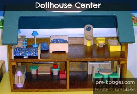 preschool doll house doll house center kindergarten language and center ideas