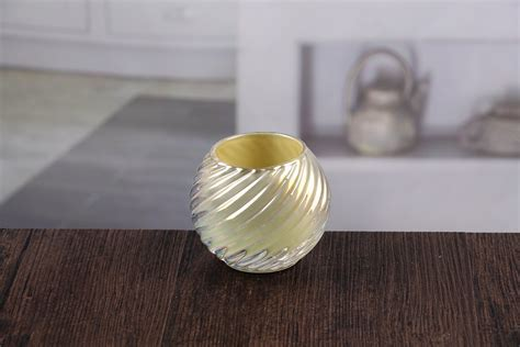 Small glass candle holders bulk decorative tealight candle