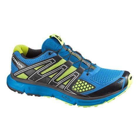 salomon xr mission trail running shoes salomon xr mission mens trail running shoes blue black