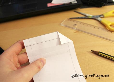 How To Make A Mobile Phone With Paper - how to make a mobile phone the custom pattern