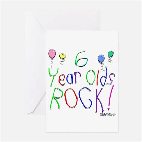 6 Year Birthday Card Sayings 6 Year Old Birthday Greeting Cards Card Ideas Sayings