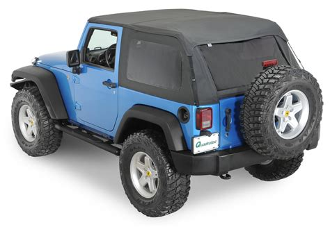 Jeep Jk Soft Doors Rage Products 106135 Complete Trail Top Frameless Soft