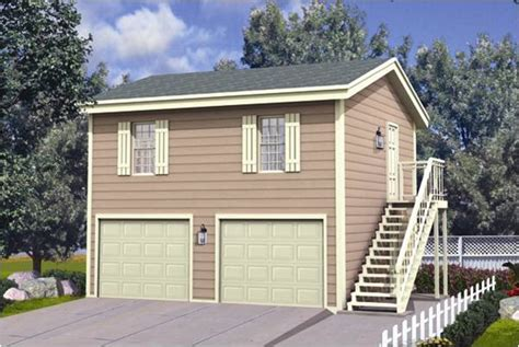 Two Story Garage Apartment by Home Ideas