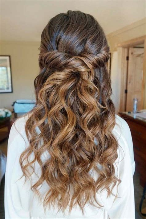 hairstyles when hair is down best 25 curly bridesmaid hairstyles ideas on pinterest