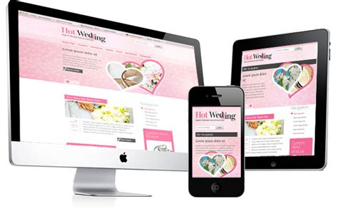 Joomla Wedding Template Hot Wedding Hotthemes Joomla Wedding Template