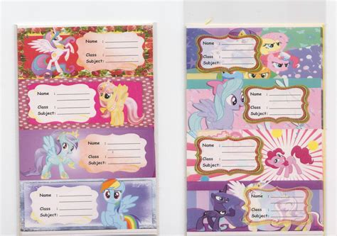Label Nama Pony L harga sticker label pony stiker nama waterproof