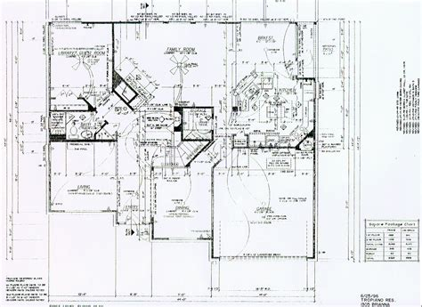 Blue Prints For Houses by Tropiano S New Home Blueprints Page