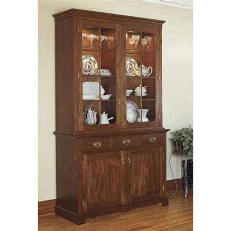 Heirloom China Cabinet Woodworking Plan Diy Pinterest Buffet Hutch Plans