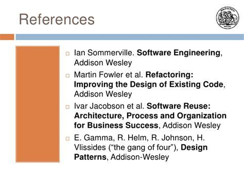 visitor pattern software engineering software engineering design for reuse