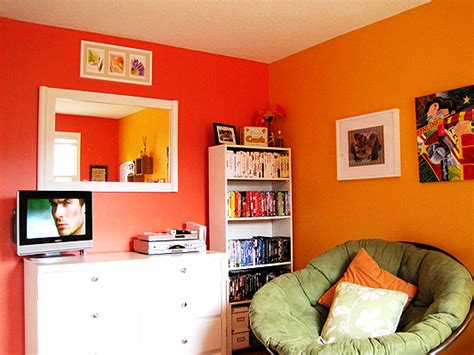 red yellow bedroom orange and yellow bedroom saucydwellings