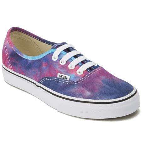 Vans Autentich Size 39 43 Sepatu Pria Sneakers Kets Putih Hitam vans s authentic tie dye trainers pink blue free uk delivery 163 50