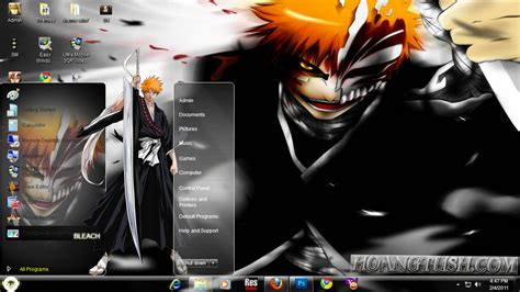 download theme android bleach style win 7 bleach by hoangtush on deviantart