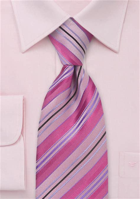 mens tie in raspberry pink ties shop stripes