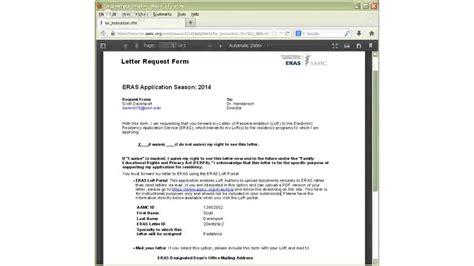 Letter Of Recommendation Eras eras letter of recommendation recommendation letter