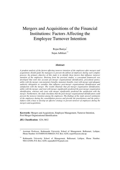 mergers  acquisitions   financial
