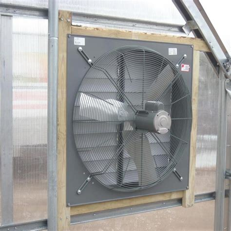 exhaust fan with shutter exhaust fan with plastic louver shutter 36 quot farmtek