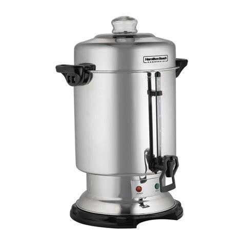 Hamilton Beach D50065 60 Cup (2.5 Gallon) Stainless Steel Coffee Urn