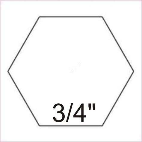3 inch hexagon template 8 inch hexagon template clipart best