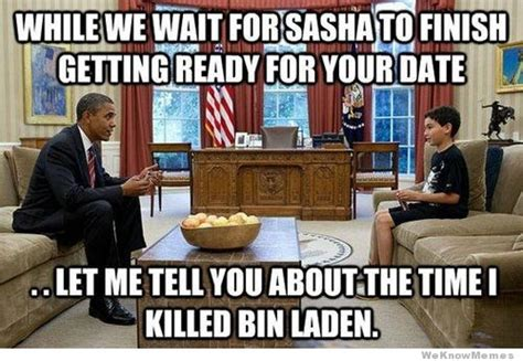 Memes About Daughters - obama s daughter goes on a date weknowmemes