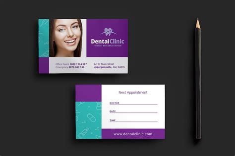 appointment card designs design trends premium psd