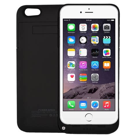 Casing Hp Iphone 5 5s 6 6s 6 Plus Luxury Silicon Cover external portable rechargeable battery power for