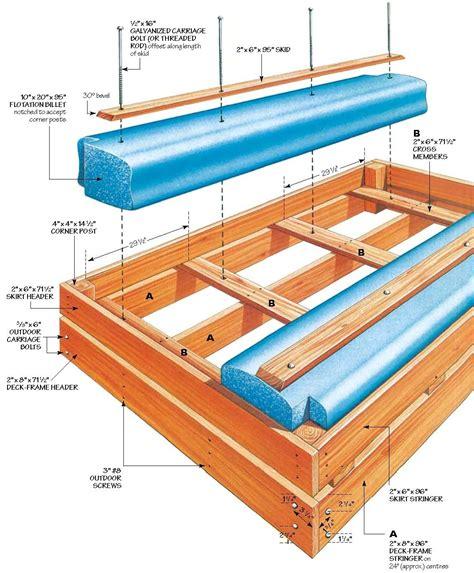 woodworking float pdf diy wood raft plans wood bed plans
