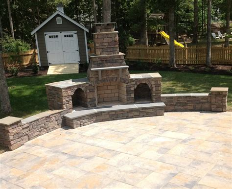 outdoor fireplaces richmond va chimney installation