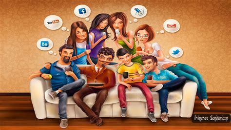 imagenes de personas en redes sociales wallpaper red social im 225 genes para compartir sagitarioxp