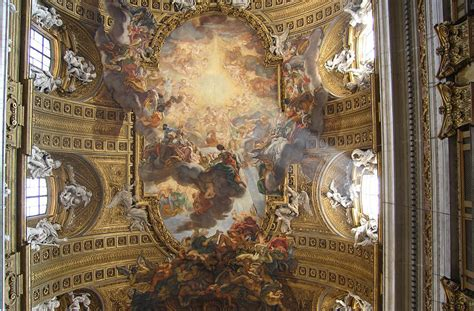 French Cornice Baroque Ceilings