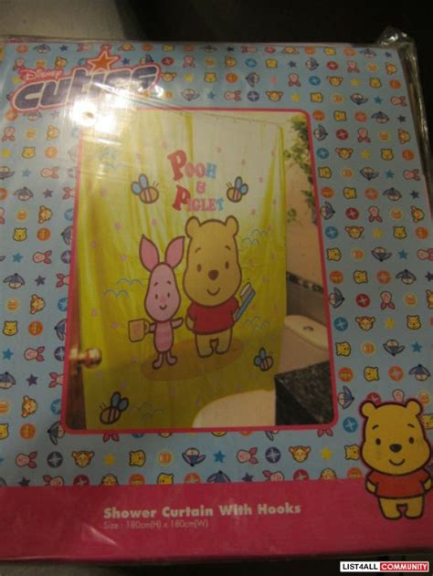 winnie the pooh shower curtain winnie the pooh shower curtains goodeal list4all