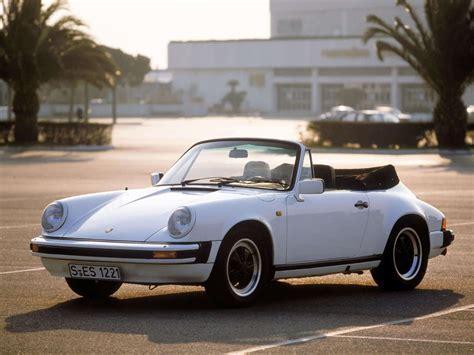 Porsche Carrera Sc by Porsche 911 Sc Carrera 3 2 Cabriolet Fiche Auto Forever