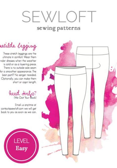 yoga leggings sewing pattern sewloft matilda leggings free pattern free sewing