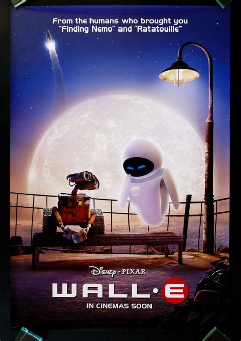 film disney wall e wall e cinemasterpieces 1sh original movie poster 2008