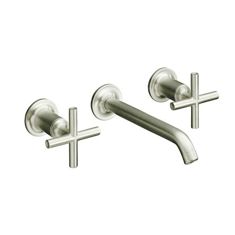 Kohler Wall Mount Kitchen Faucet by Kohler Purist Wall Mount 2 Handle Low Arc Water Saving