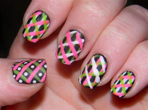 Nail Desings by Neon Nail Designs Acrylic Nail Designs