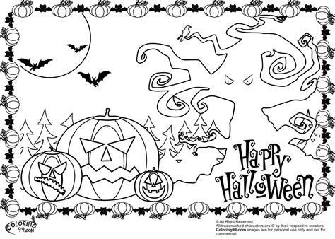 spooky pumpkin coloring pages scary halloween pumpkin coloring pages team colors