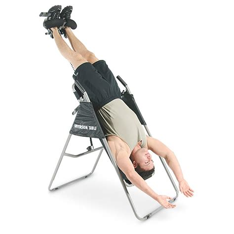 stamina products inversion table stamina 174 inversion therapy table 142392 inversion