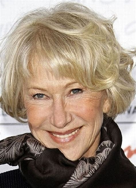 curly hairstyles over 60 short hairstyles over 50 short wavy bob for women over
