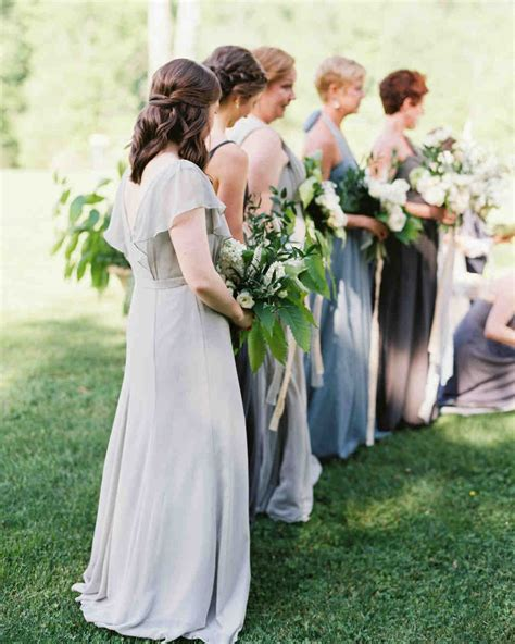pretty wedding hairstyles for your bridesmaids martha stewart weddings
